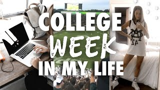 COLLEGE WEEK IN MY LIFE : Michigan State University