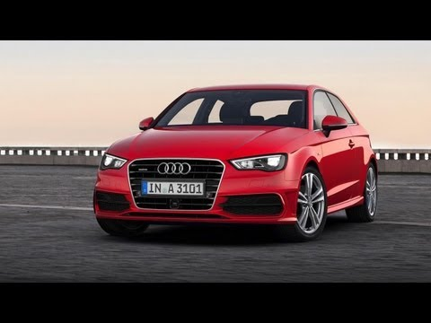 Auto Report - The New Audi A3 Sportback S Line 2014