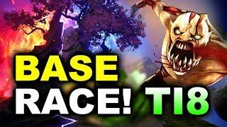 ALLIANCE WAR!!! - INSANELY EPIC BASE RACE! - TI8 DOTA 2