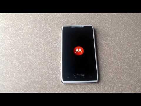 How to Factory Hard Reset a Motorola droid Razr /maxx. Delete forgotten password.