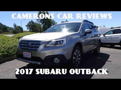 2017 Subaru Outback Limited 2.5 L 4-Cylinder Review | Camerons Car Reviews