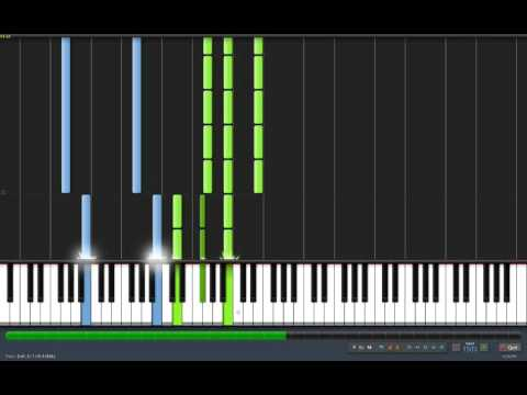 [Piano] Skyrim Theme tutorial Music Videos