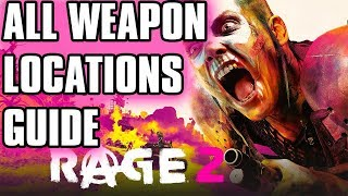 Rage 2 Guide All Hidden Weapon Locations