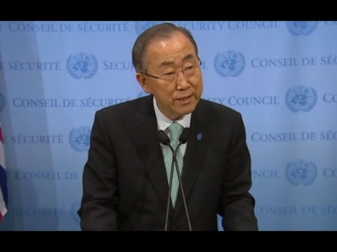 Ban Ki-moon renews call for Gaza ceasefire