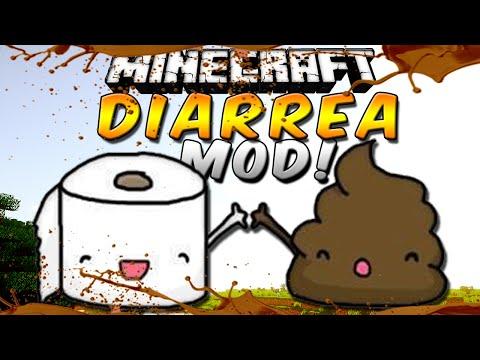 DIARREA MOD (Ensucia. mancha. trolea. mmmm!!!) - Minecraft Review