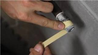 Gas Stoves & Ovens : How to Fix a Gas Line Behind the Stove