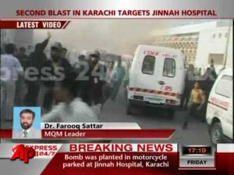 Pakistan Carnage: Bus Bomb Then Hospital Blast