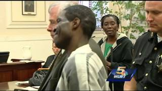 Convicted killer laughs as victim