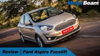 Ford Aspire Facelift Review - Best Compact Sedan | MotorBeam