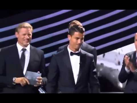 Cristiano Ronaldo ~ Winner of UEFA Best Player Award 2013 - 2014