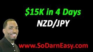 $15K In 4 Days - Forex Trading - So Darn Easy Forex