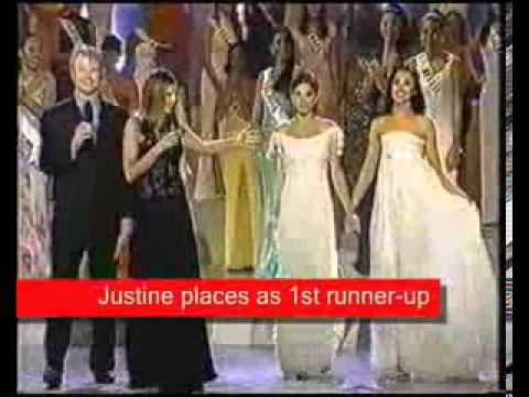 Justine Pasek - Miss Universe 2002 ( Official Riyo Mori Lovers ) HD