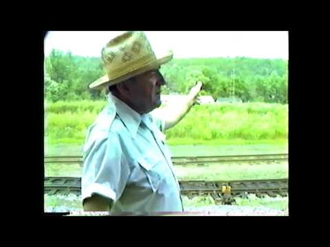 Interviewing B&M railroaders at the Mechanicville (NY) hump 07/18/1982