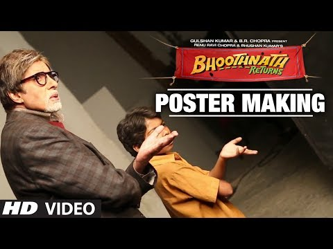 Bhoothnath Returns: Making of Poster | Amitabh Bachchan, Parth Bhalerao