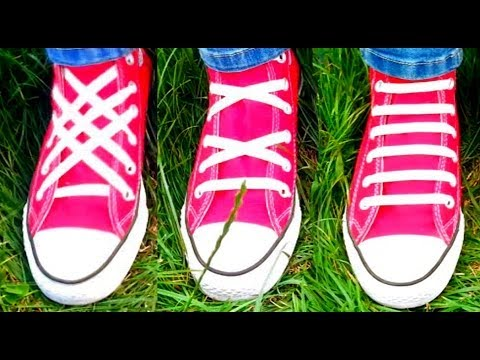 Different Ways To Lace Up Tennis Shoes