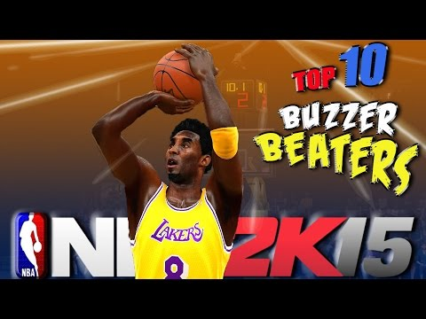 NBA 2K15 TOP 10 BUZZER BEATERS Of The WEEK