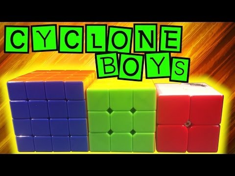 Cyclone Boys Unboxing and First Impressions