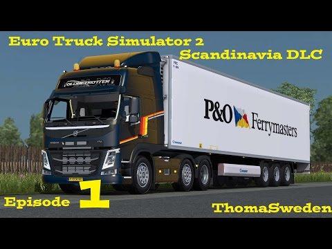 Euro Truck Simulator 2   Scandinavia DLC   Episode 1 a trip to Bergen