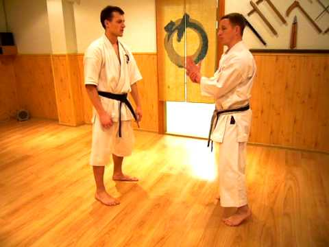 Okinawa Goju Ryu Karate Do Jundokan Lithuania :Sanchin Bunkai Image 1