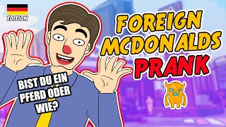 Foreign McDonalds Prank Call - OwnagePranks