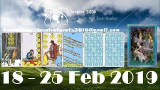 Sagittarius Weekly Tarot Reading 18 - 25 February 2019 (Special Virgo Full Moon)