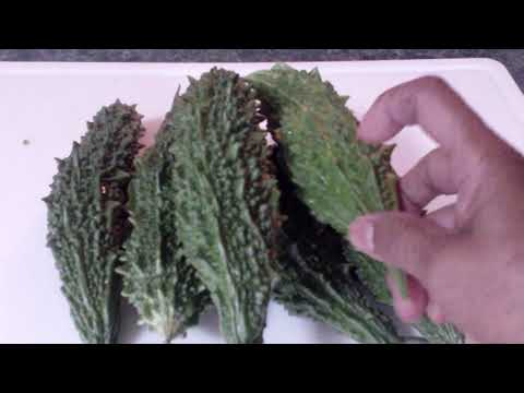 How to make Stuffed Bitter Melon  (Karela)