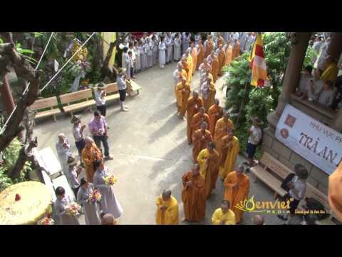 SEN VIỆT Video 8: Lễ viếng Giác linh của Cố HT. Thích Minh Châu - ngày 8/9/2012