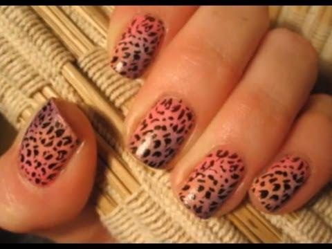 Panterka Na Kolorowo - Tutorial - Wzorek Na Paznokcie - Leopard Print Nail Art - Basevehei