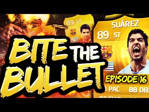 FIFA 15 - BITE THE BULLET! #16 - 37 YARD FREE KICK! (FUT 15 SUAREZ RTG...