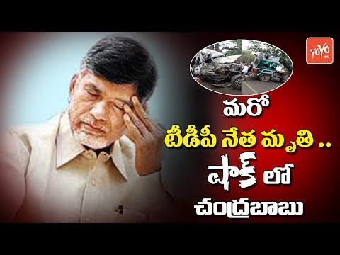 Chandrababu Shocked Over TDP MLC MVVS Murthy Demise | AP Politics | Gitam University | YOYO TV