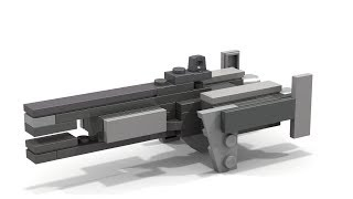 HOW TO BUILD a Lego HALO MICRO Frigate v1