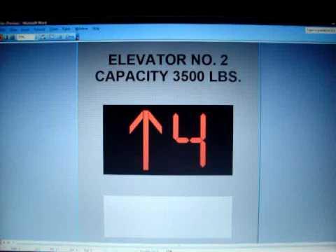 Otis Traction Elevators at the UAM Rogers School of Art & Architecture (Animated)