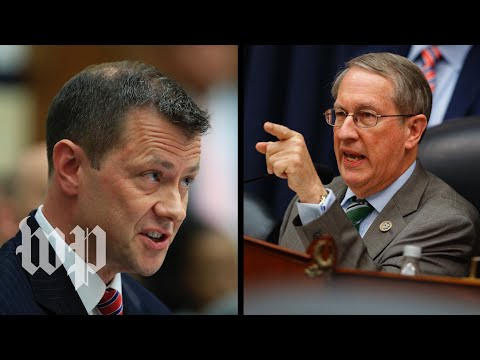 The fieriest moments from Peter Strzok's hearing