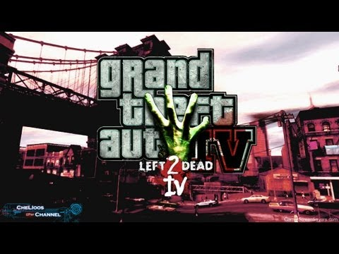 GTA IV Mod Zombie ม็อดซอบบี้ { Left 2 Dead IV } Trailer