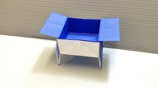 Daily Origami: 096 - Sanbow Or Serving Tray