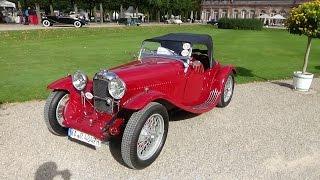 1934 - Lagonda Rapier Tourer - Exterior and Interior - Classic-Gala Schwetzingen 2015