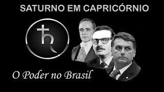 SATURNO EM CAPRICÓRNIO - O PODER NO BRASIL