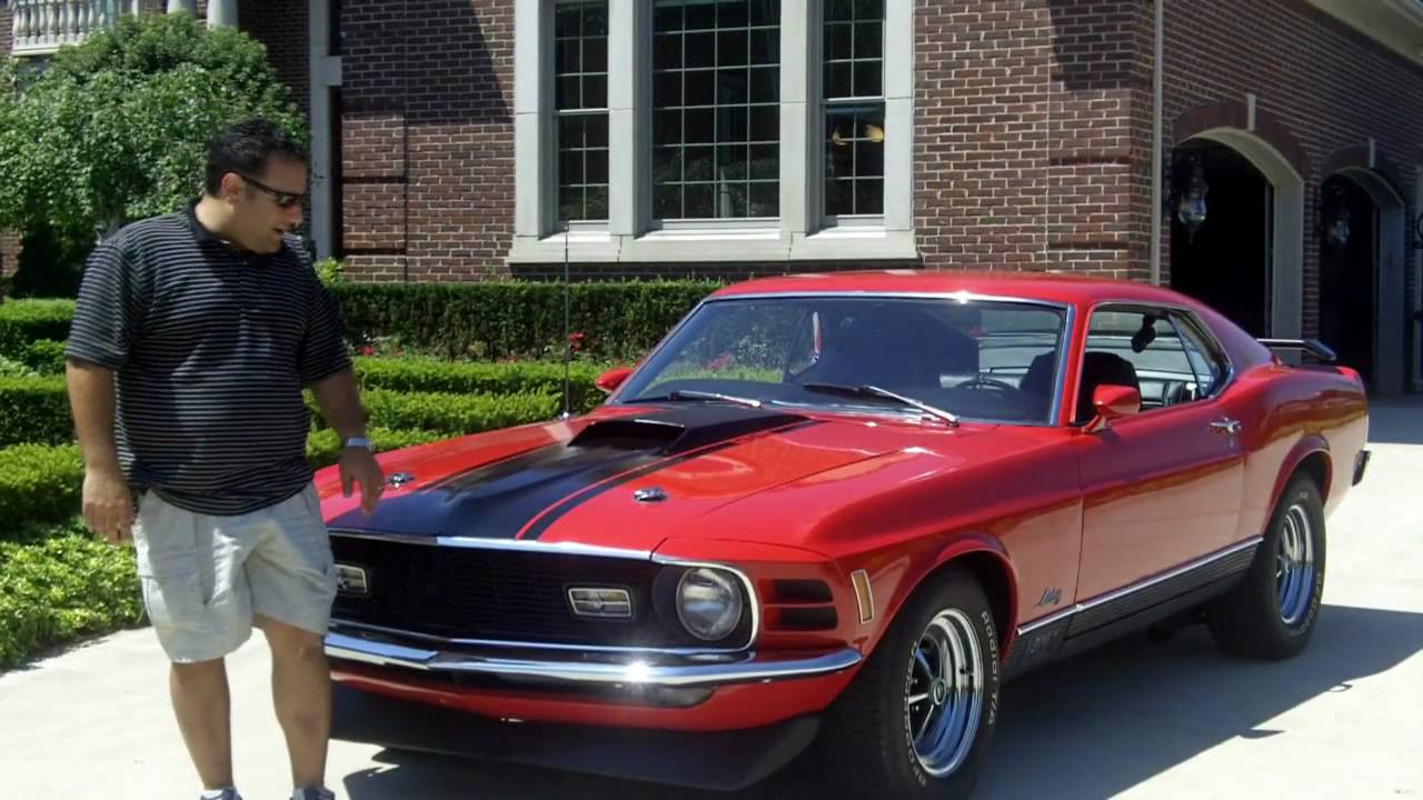 2010 Ford Mustang For Sale >> 1970 Ford Mustang Mach 1 Classic Muscle Car for Sale in MI Vanguard Motor Sales - YouTube