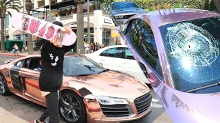 INSANE PEOPLE ANGRY AT LOUD CARS !!!