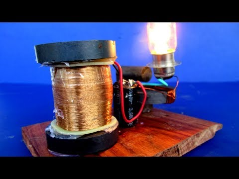 Homemade Free energy Device Using Magnets & Wire 100% Real - New Technology science project at home thumbnail