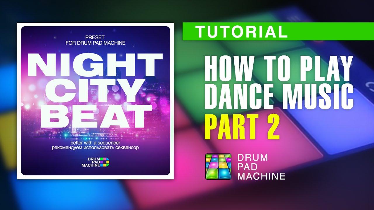 drum pad machine tutorial