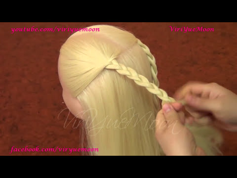 PEINADOS; CASCADA Y CORAZÓN♥  /BRAID HAIRSTYLES HEART AND WATERFALL