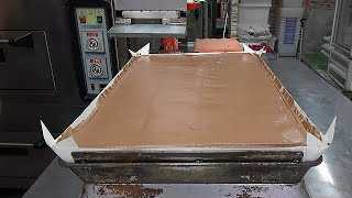 How Giant Chocolate Jiggly Cakes Are Made