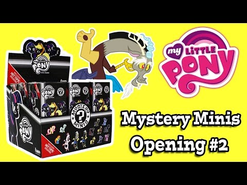 My Little Pony Hot Topic Funko Mystery Minis Series 2 Opening 2 video
