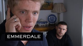 Emmerdale - Have Robert and Aaron Been Caught by the Police?