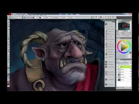 Troll Painting in Corel Painter 12