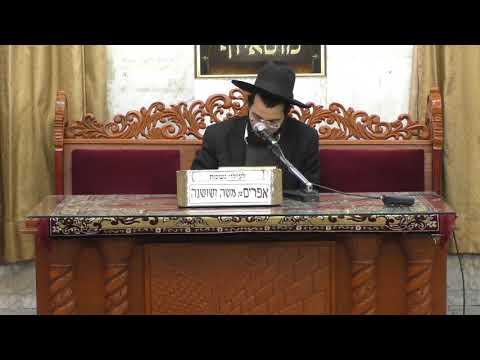 הרב נהוראי הלוי הכנה למתן תורה