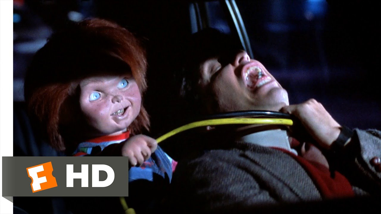 Child's Play (5/12) Movie CLIP - Chucky Attacks Mike (1988