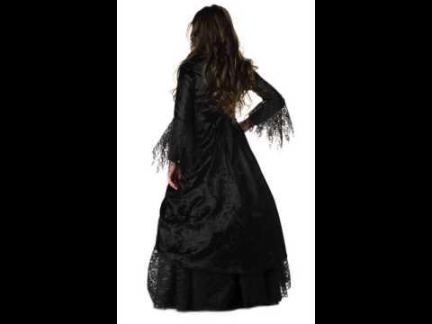 Easy Gothic Costumes Gothic Vampiress Girls Costume