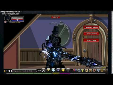 AQW Troll SpellSmith Class (Enhancements And How To Use)